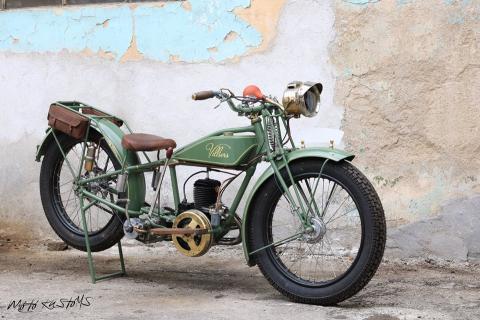 Villiers Mark 1927 - Реставрация